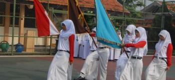 Berita Serah Terima Jabatan OSIS Peride 2013-2014 SMK Negeri 1 Purwosari