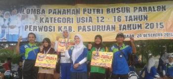 Berita Pemenang Panahan SMK Negeri 1 Purwosari